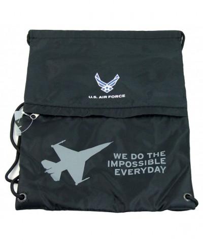 Military Sport Sackpack AirForce Black