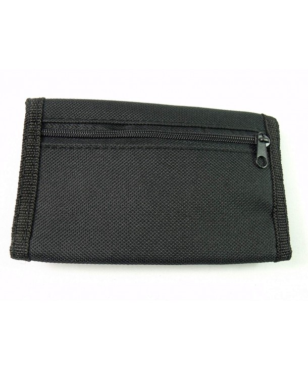 Leather Emporium Canvas Wallet Closing