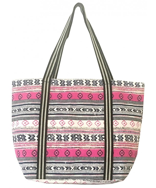Large Utility Canvas Travel B PINK