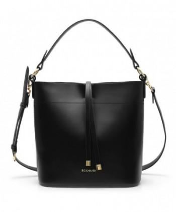 ECOSUSI Bucket Handbags Satchel Shoulder