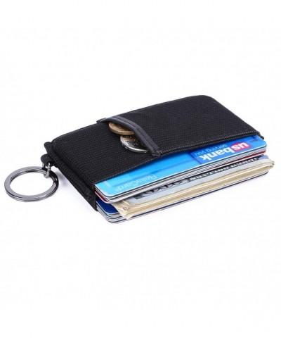 Kinzd Minimalist Slim Wallet Elastic