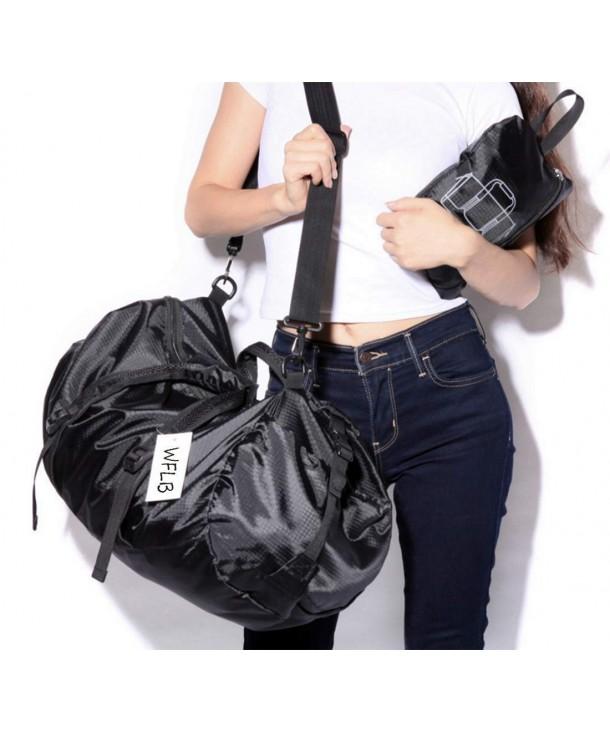 38687e355f Foldable Gym Bag Sports Duffel Travel Duffel Bag Lightweight ...