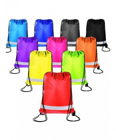 Shappy Drawstring Traveling Reflective Multicolored