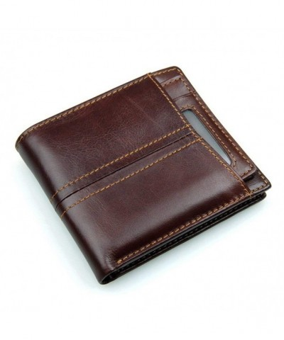 HYHZ Italian Leather Bifold Wallet