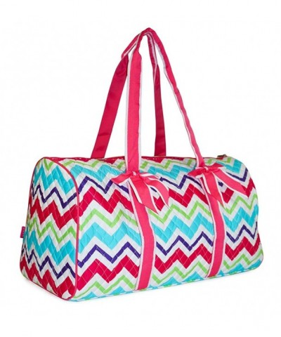 NGIL Chevron Quilted Duffle Bag