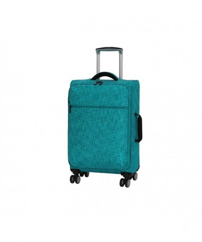 luggage Stitched Squares Lightweight Expandable
