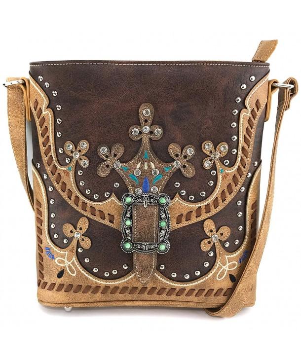 Justin West Moccasin Concealed Handbag