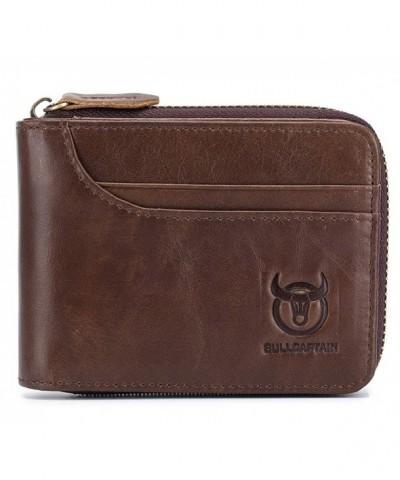 Leather Wallet Blocking Vintage Wallets