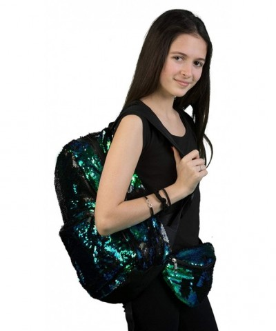SQ2 0633 FP Sequin Large Backpack BUNDLE