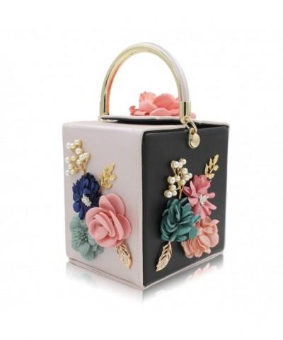 Milisente Clutches Flower Evening Handbag