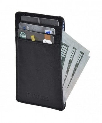 Cuoio leather wallet credit blocking