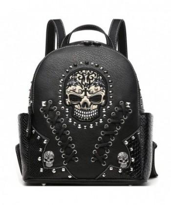 Studded Fashion Backpack Bookbag Shoulder
