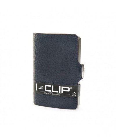 I CLIP Leather Wallet Minimalist Design