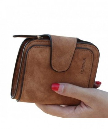 TJEtrade Wallets Leather Bifold Vintage