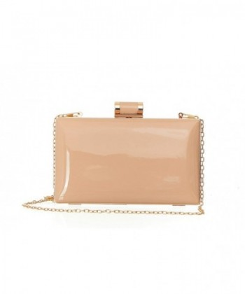 Patent Leather Candy Clutch Rectangular