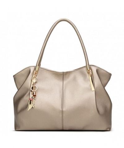 Lizhigu Shoulder Designer Handbags Champagne999