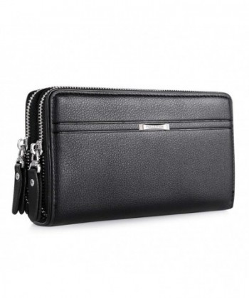WIN Leather Wallet Clutch Credit