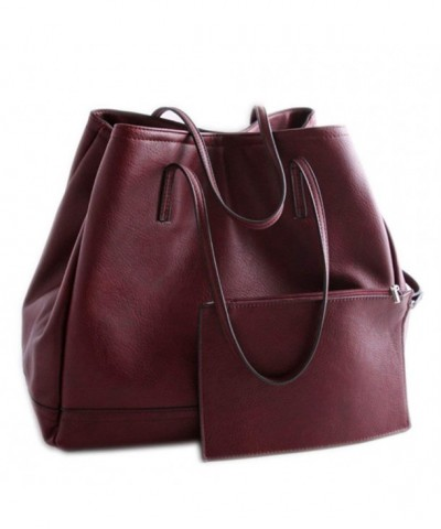 Catkit Handbag Working Shoulder Burgundy