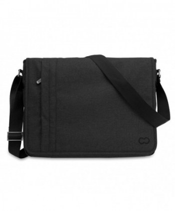 Messenger CaseCrown Campus Black Stealth