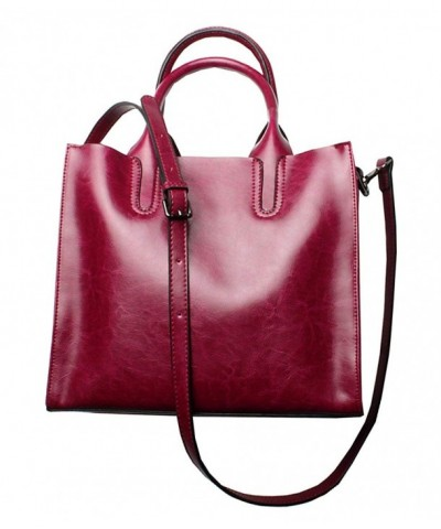 Leather Designer Handbags Shoulder Satchel