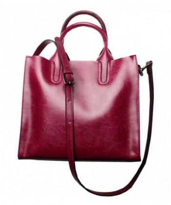 Leather Designer Handbags Shoulder Satchel