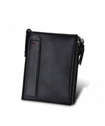 Klsyanyo Blocking Leather Wallets Vintage