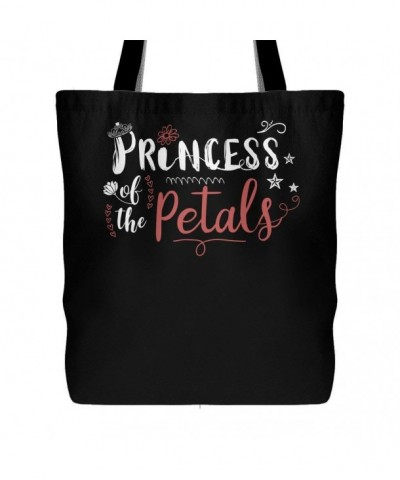 Princess Petals Canvas Tote Bag
