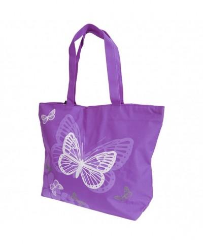 FLOSO Womens Ladies Butterfly Handbag
