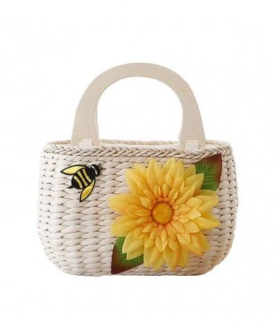 Tonwhar Pastoral Natural Top handle Handbag