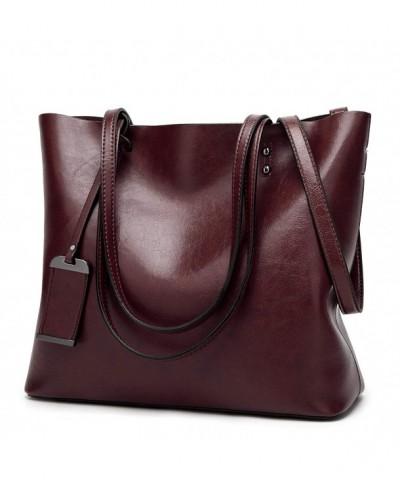 Vintage Genuine Leather Shoulder Handbag
