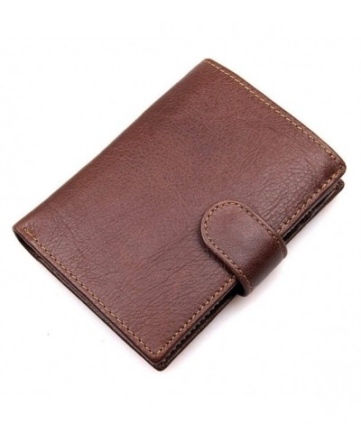HRS Wallets Men Blocking Trifold