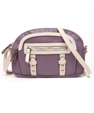 UU Family Leather Colorblock Amerthyst