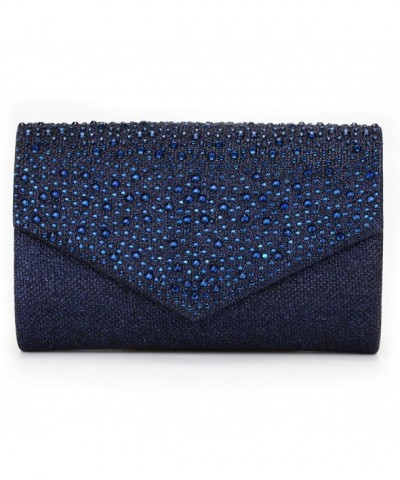 CurvChic Evening Envelope Rhinestone Handbag