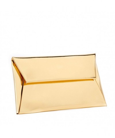 BYSUMMER MARKFRAN Metallic Envelope Clutch