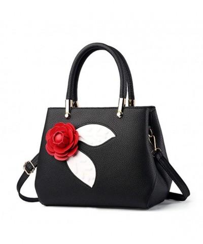 Flada Lovely Camellia Handbags Shoulder