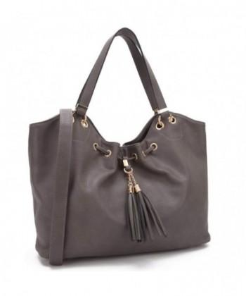 Leather Shoulder Handbag Satchel Lightweight