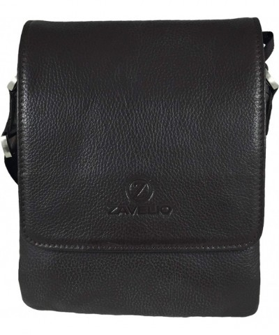 Zavelio Genuine Leather Shoulder Messenger
