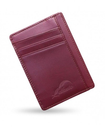 Lethnic Wallet Pocket Minimalist Crossed