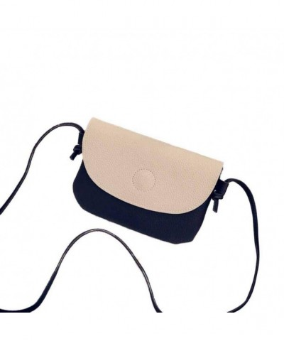 Woman Shoulder Leather CrossBody TOPUNDER