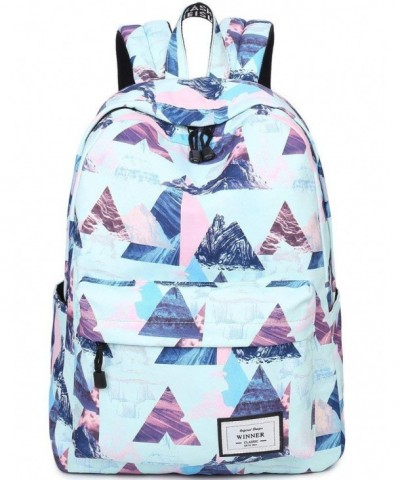Resistant Backpack Geometry Bookbag Rucksack