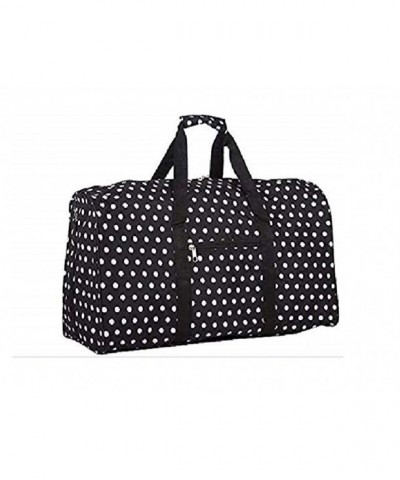 Dallas Luggage Black Duffle 21 inch
