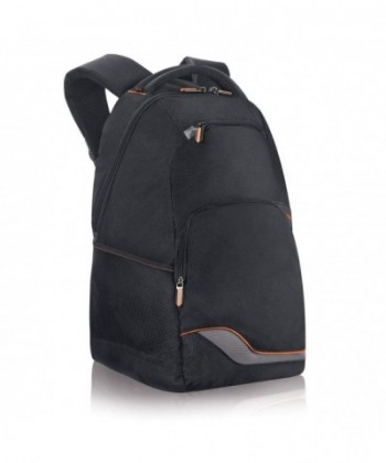 Urban Laptop Backpack Orange Accents