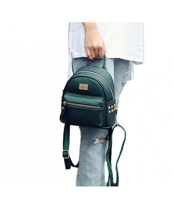 Waterproof Leather Shoulder Daypack Backpack