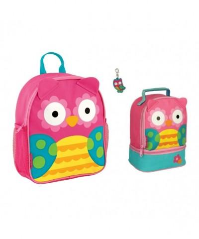 Stephen Joseph Owl Backpack Zipper