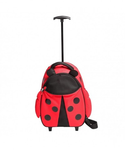 Red Balloon Rolling Luggage Ladybug