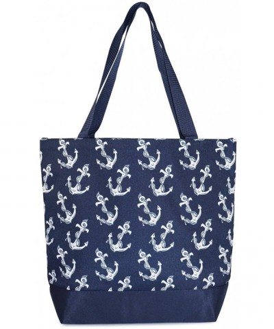 Ever Moda Anchor Tote Navy x