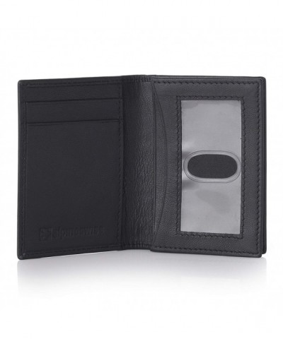 Alpine Swiss Business Wallet Black
