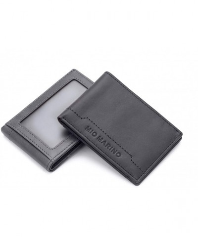 Blocking Wallet Wallets Genuine Leather