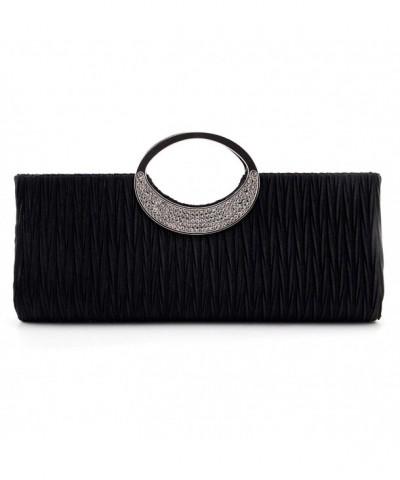Nodykka Wedding Pleated Rhinestone Handbag