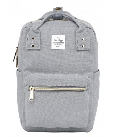 Small Backpack Purse 10 inch Silver
